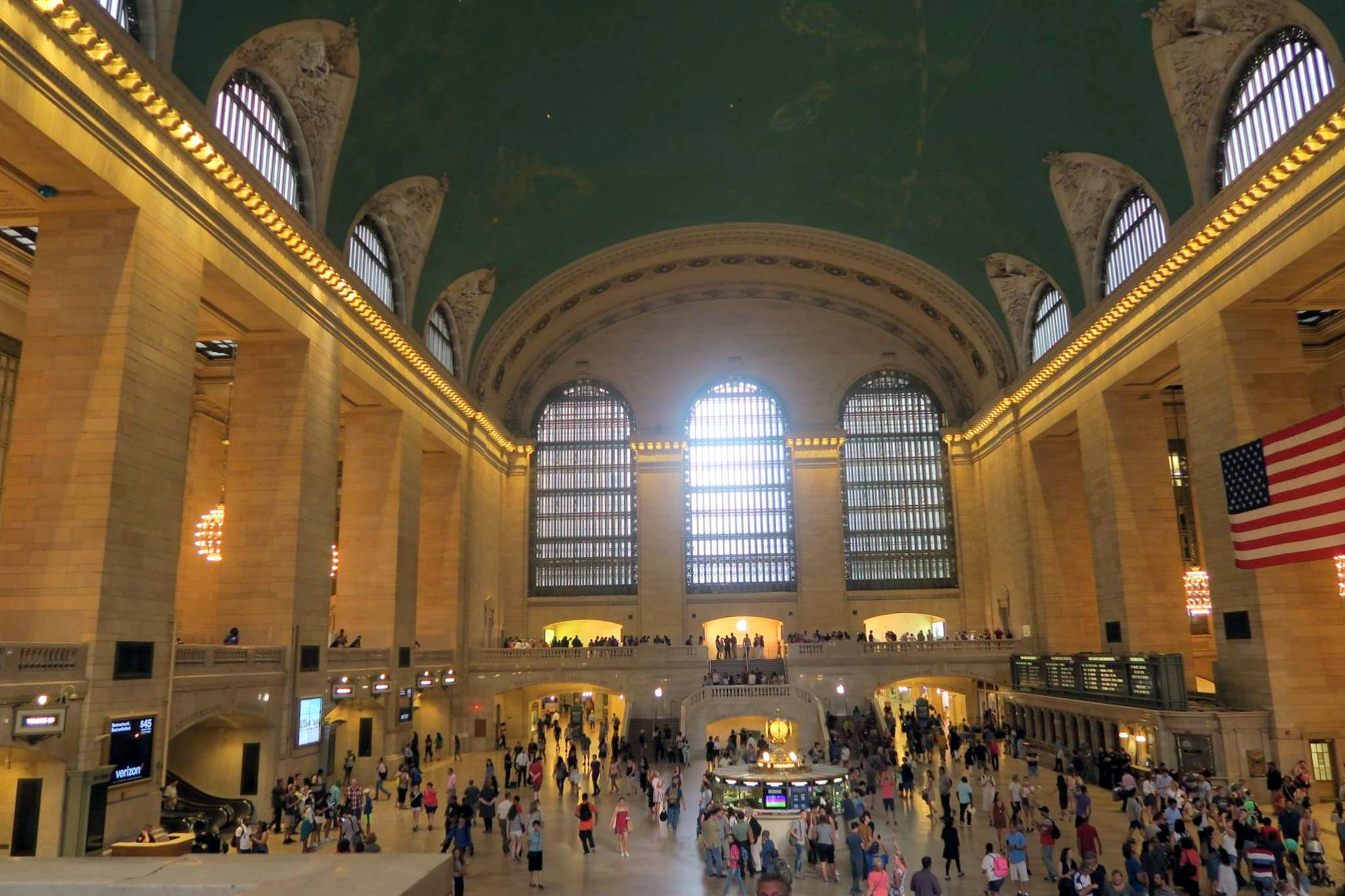 The grand concourse in Grand Central Station