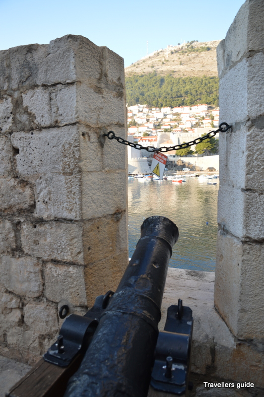 The canon still tells about the powerful history of Dubrovnik