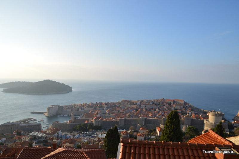 The first glance on Dubrovnik